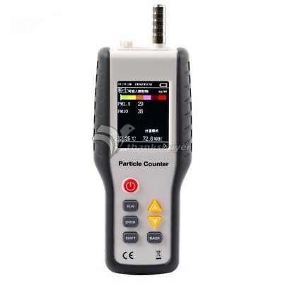 PM2.5 Detector HT-9600 Laser Dust Humidity Meter Air Analyzer Particle Monitor