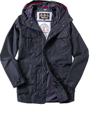 Barbour Achille Men's Jacket - Waterproof /Navy/ Size L   MSRP $349.00