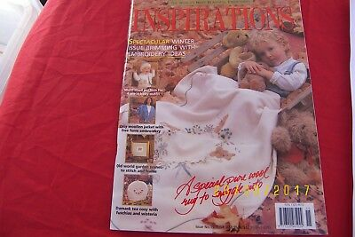inspirations magazine issue 15  1997 embroidery gifts