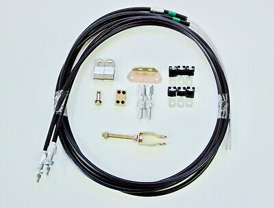 Hot Rod Hand Brake Cable Kit - Universal Style Suit Many Brake Types Ford, Chev