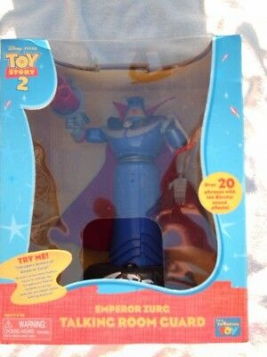 Thinkway Toys Disney Pixar Toy Story 2 Emperor Zurg Talking Room Guard