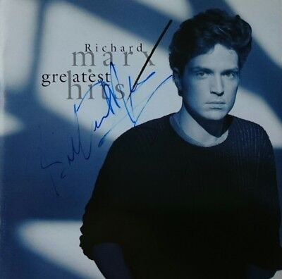 Richard Marx Greatest Hits Beautiful Compilation Cd Hand Signed Autographed