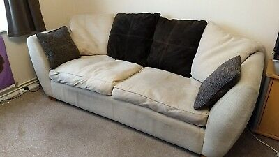 FREE matching 3 seater sofa and 2 seater sofa bed