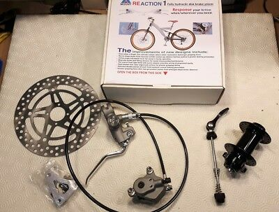 Retro ATB Front Hydraulic disc brake & sealed hub NOS