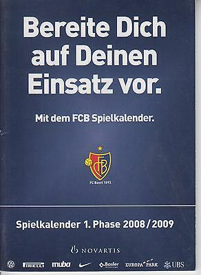 Basel Switzerland yearbook 2008/09 CHL Sporting Barcelona Göteborg SHAKHTAR