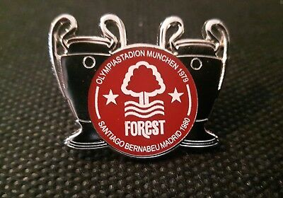 Nottingham Forest Back to Back European Cup Winners Badge