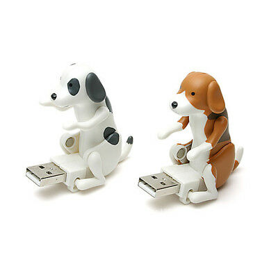 Portable Funny Cute Pet USB Humping Dog Toy Gift 2 Colors *1