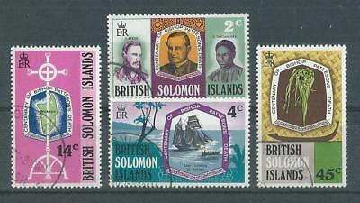 Solomon Islands SG205-208 1971 Death Centenary of Bishop Patteson Fine Used