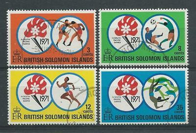 Solomon Islands SG209-212 1971 South Pacific Games Fine Used