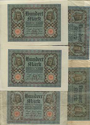 1.545,40 Papier Marks 1916-1920 at 5,00% Face Value (55 munzen & 40 banknoten)
