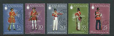 Antigua SG353-357 1973 Military Uniforms (Series 4)  Fine Used