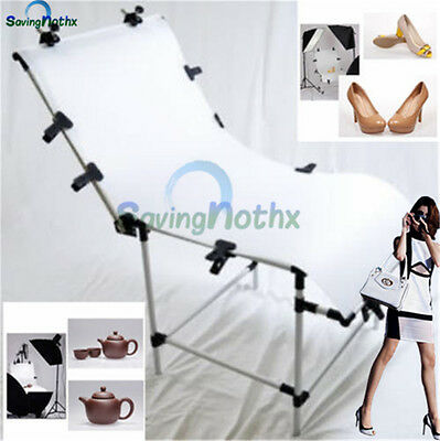 AU-NEW 60x130cm Adjustable Still Life Product Photo Shooting Table Support-LOCAL