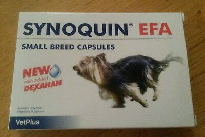 Synoquin EFA Joint Supplement Small Breed Capsules x15