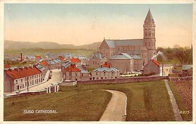 "Sligo Cathedral General view Dom ""Valentine's Postcard"""