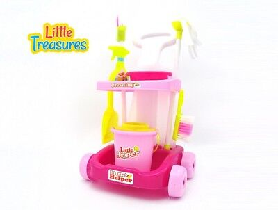 Little Helper cleaning play set from Little Treasures - Complete with