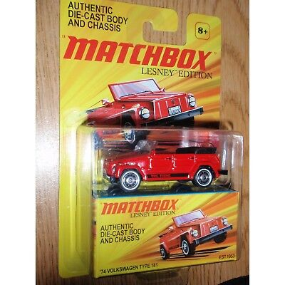 Matchbox Lesney Edition Authentic Die-Cast Body and Chasis '74 VOLKSWAGEN TYPE