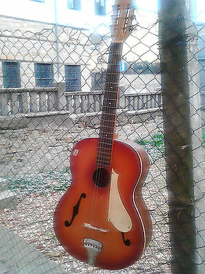Vintage Old Made Cremona Guitar String Musical Instrument