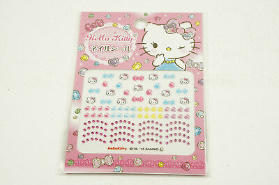 Daiso Japan Sanrio Hello Kitty Nail Sticker From Japan