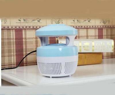 Blue Domestic Electric Mosquito Fly Bug Insect Pest Repellent Killer Trap Lamp *