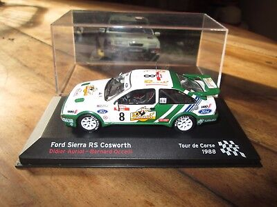 voiture 1:43 rallye - Ford Sierra RS Cosworth - Tour de Corse 1988 - altaya