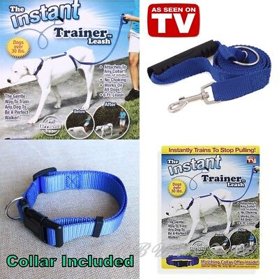 Instant Trainer Dog Leash 30 Lbs Stop Pulling Pet Harness Control As Seen On TV