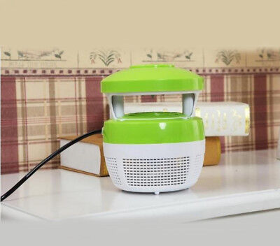 Domestic Electric Mosquito Fly Bug Insect Pest Repellent Killer Trap Lamp *