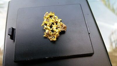 Beautiful Rare Crystal Cast Gold Nugget 3grams