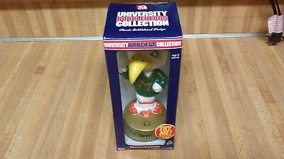 Rare Miami Hurricanes Mascot Bobblehead,sings,new!