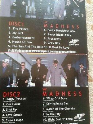 Two Madness Live Cds
