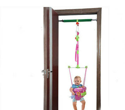 Fashion Pink Adjustable Length 140-237CM Children Hanging/Jump Chair Toys *1
