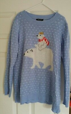 maternity size 14 christmas jumper from New Look