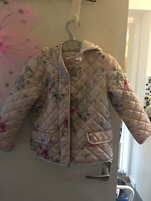 Next Girls Padded Jacket Age 4 - 5 Years