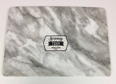 Large Marble Effect Serving Tray
