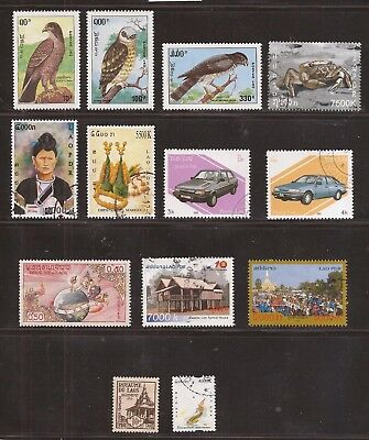 Laos  -  Lot Of Stamps