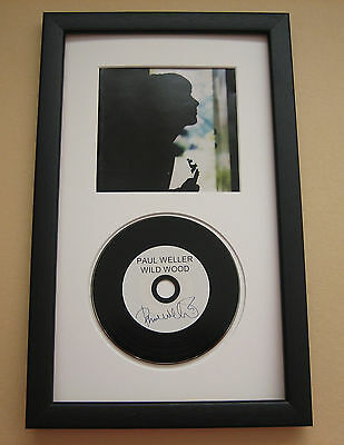 PAUL WELLER Wild Wood FRAMED CD Disc Presentation