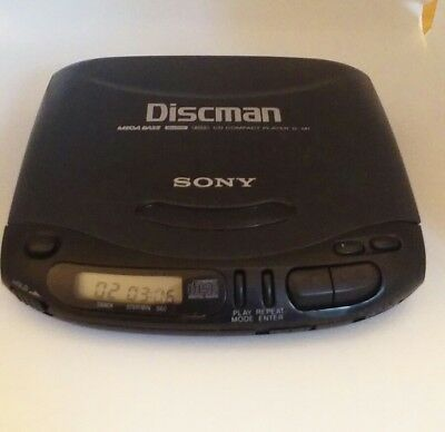 Sony Discman CD Compact Player D-141 Mega Bass Personal Portable Player fault?