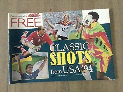 World Soccer Magazine FREE GIFT,World Cup USA 1994,'Classic Shots From USA '94'