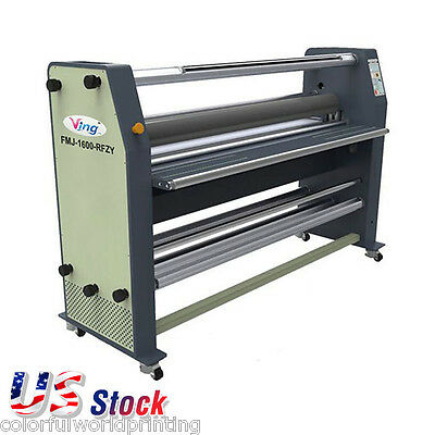 """USA Stock Ving 63"""" Full - auto Wide Format Hot Laminator High End Laminating"""