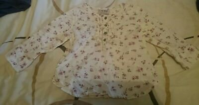 beautiful girls floral shirt from Next age 2-3 years