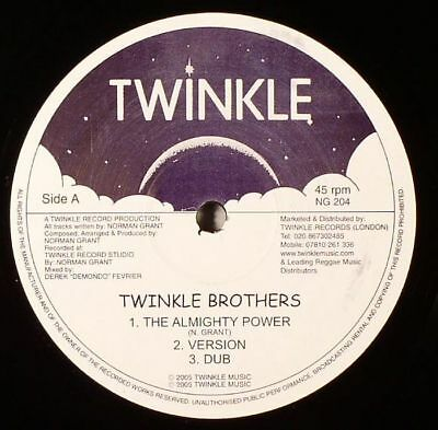 """TWINKLE BROTHERS - The Almighty Power - Vinyl (12"""")"""