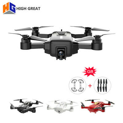 HIGH GREAT MARK 4K RC Drone FPV With 1080P HD Camera Battery VS DJI Spark Dobby