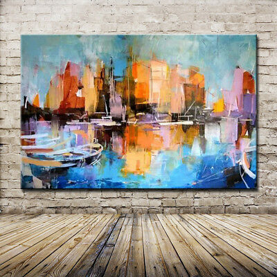 Frameless Pictures 100% Hand Painted Modern Abstract Oil Painting On Canvas