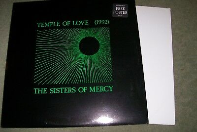 the sisters of mercy 12 inch vinyl  the temple of love 1992