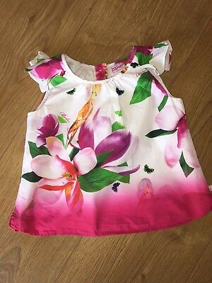 Ted baker Girl Top 9-12 Months - Great Condition