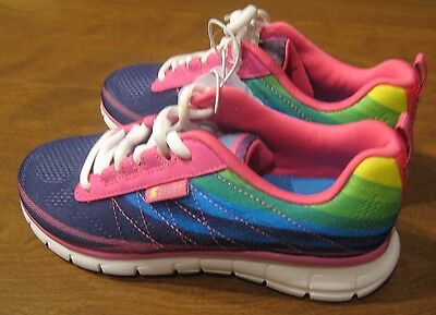 NEW S SPORT designed by Skechers Girl's Athletic Sneakers Shoes Size 1 Unbroken