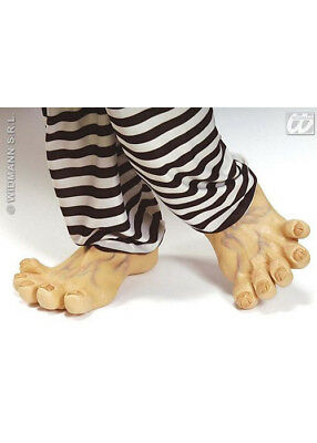 Adult Deluxe Large Funny Latex Feet