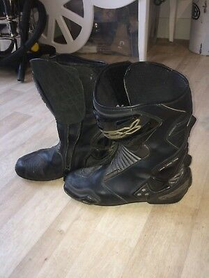 TCX Motorcycle Boots Size 10