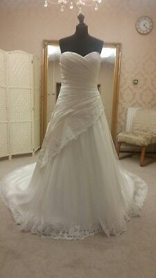 Victoria kay wedding dress X Sample size 14