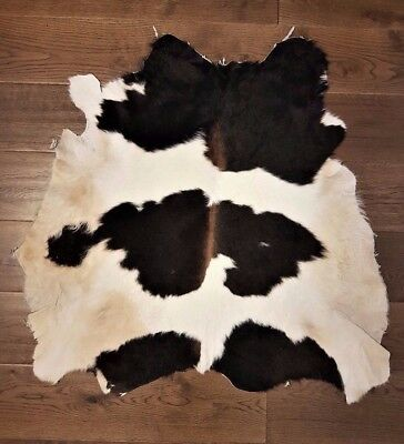 Brand New Cowhide Rug, Real Fur Leather Hide Skin Natural Cow, peau de vache