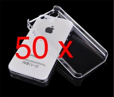 50 X IPhone 4/s Wholesale Cases Mobile Phone Joblot *Clearance Stock*